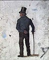 Frederik Collett - Man with Walking-stick - NG.M.03087 - National Museum of Art, Architecture and Design.jpg