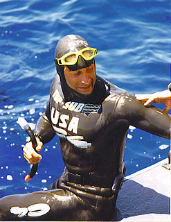 Peppo Biscarini Italian and American swimmer, freediver, and actor