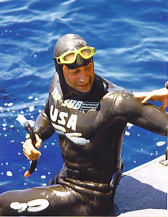 Peppo Biscarini - Freediving World Cup 1998