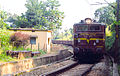 Freight Train hauled by a WAG5 loco of VSKP at Araku.jpg