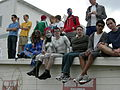 Fremont Solstice Parade 2007 rooftop viewing 02.jpg