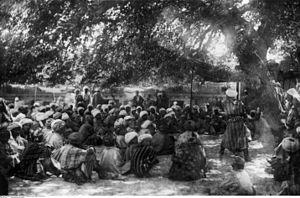 Friedrich Sarre - Fairy-tale narrator (photographed 1898 in Bukhara by Friedrich Sarre)