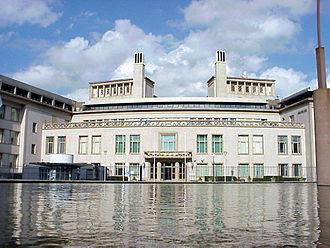 Joint criminal enterprise - Building of International Criminal Tribunal for the former Yugoslavia in Hague.