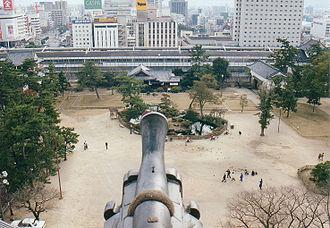 Fukuyama, Hiroshima - City view from Fukuyama Castle
