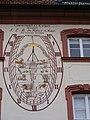Fulda - Bibliothek der Theologischen Fakultät Sonnenuhr.JPG