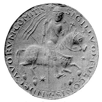 Fulk, King of Jerusalem - Fulk was the first count of Anjou to use a seal
