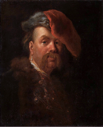 Gáspár Bekes - Portrait of Bekes attributed to Alexis Grimou ca 1730