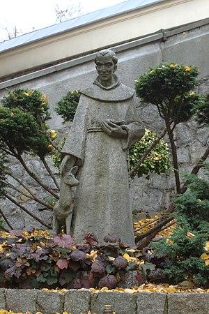 Góra Świętej Anny - Image: Góra Świętej Anny, socha