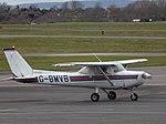 G-BMVB Reims F152 Gloucestershire Airport, March 2016.jpg