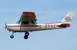 Cessna 152 Two-seat tricycle gear general aviation airplane
