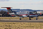 G-GMAD Beech 350 King Air GAMA Aviation (25671432316).jpg