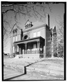 GENERAL VIEW - Louis LaTour House, Court and Eleventh Streets, Lynchburg, Lynchburg, VA HABS VA,16-LYNBU,37-1.tif