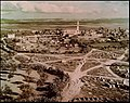GENERAL VIEW OF THE CITY OF RAMLE. (1917, COURTESY OF THE AMERICAN COLONY). צילום צבעוני נדיר של העיר רמלה. צולם בשנת 1917.jpg