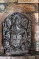 Ganesh sculpture in Kalleshvara temple at Hire Hadagali.JPG