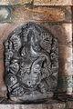 Ganesh sculpture in Kalleshvara temple at Hire Hadagali.JPG