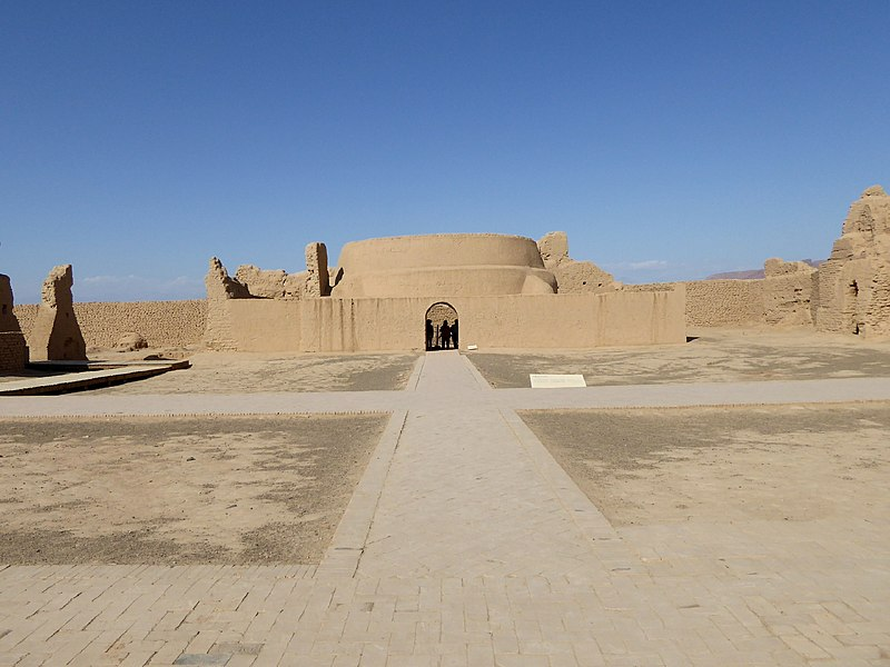 File:Gaochang Ruins Turpan Xinjiang China 新疆 吐魯番 高昌故城 - panoramio (12).jpg