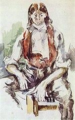 Le Garçon au gilet rouge (Boy in a Red Waistcoat)