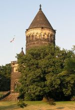 Garfield Monument at Lake View Cemetery in Cleveland, Ohio.