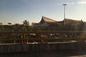 Jinghong - The main terminal of Jinghong Airport