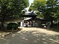 Gate of Nishinomaru Garden in Osaka Castle.JPG