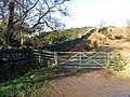Gate on the old track to Murton - geograph.org.uk - 1129867.jpg
