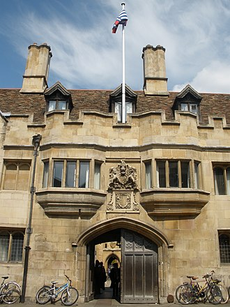 Tom Sharpe - Pembroke College, Cambridge University