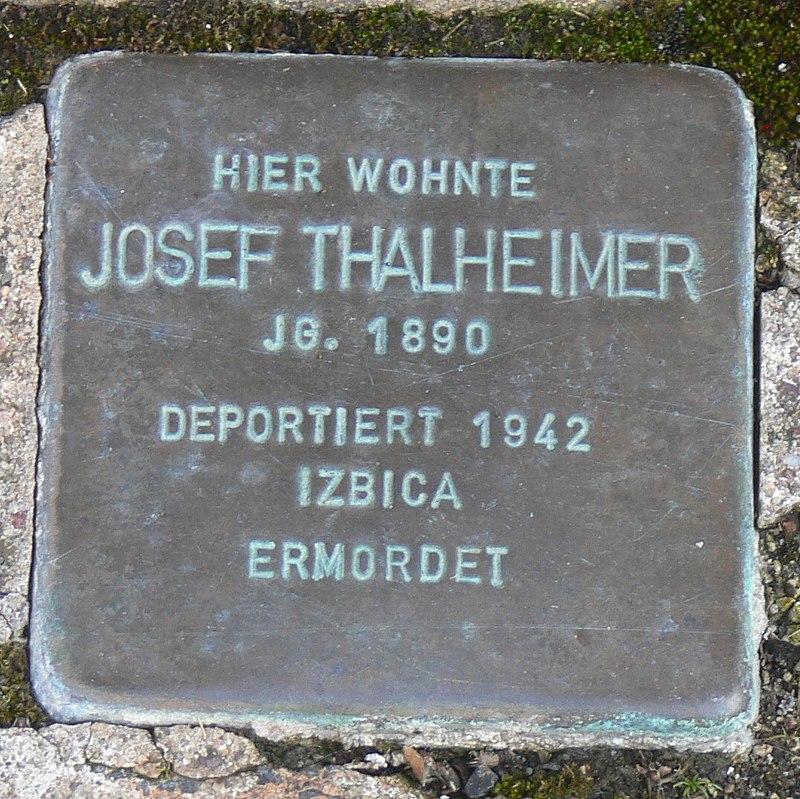 Gaukönigshofen Stolperstein Thalheimer, Josef.jpg