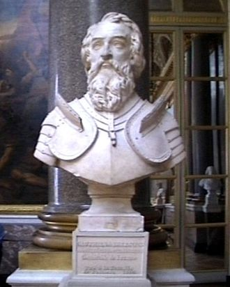 Walter VI, Count of Brienne - Bust of Walter VI, Count of Brienne, in Versailles