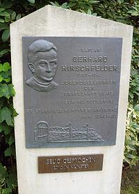 Gedenktafel für Gerhard Hirschfeld in Telgte 01.JPG