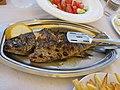 Gegrillter Fisch, Boukaris, Korfu 01.jpg