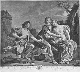 Dorinda, Silvio und Linco (Guercino)