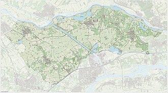 Buren - Dutch Topographic map of Buren, June 2015
