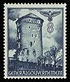 Generalgouvernement 1941 66 Sandomiersk Bastei der Burg in Krakau.jpg