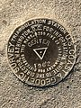 Geodetic Triangulation Marker in the Center of the United States.jpg