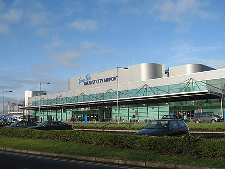 George Best Belfast City Airport. George Best Belfast City Airport - geograph.org.uk - 714574.jpg