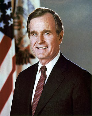 United States presidential election in North Dakota, 1988 - Image: George H. W. Bush, Vice President of the United States, official portrait
