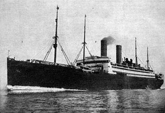 SS George Washington - The George Washington in 1909