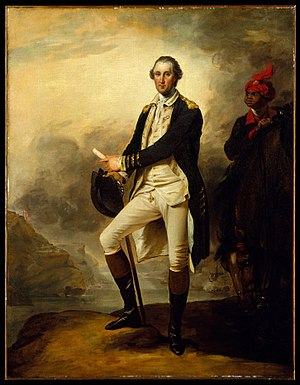 George Washington (Trumbull) - Image: George Washington MET DT2823