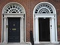 Georgian doors in Fitzwilliam Square - geograph.org.uk - 228788.jpg