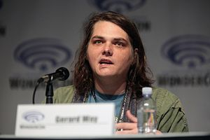 Gerard Way - Way promoting his comic book projects with DC Comics at the 2017 WonderCon.