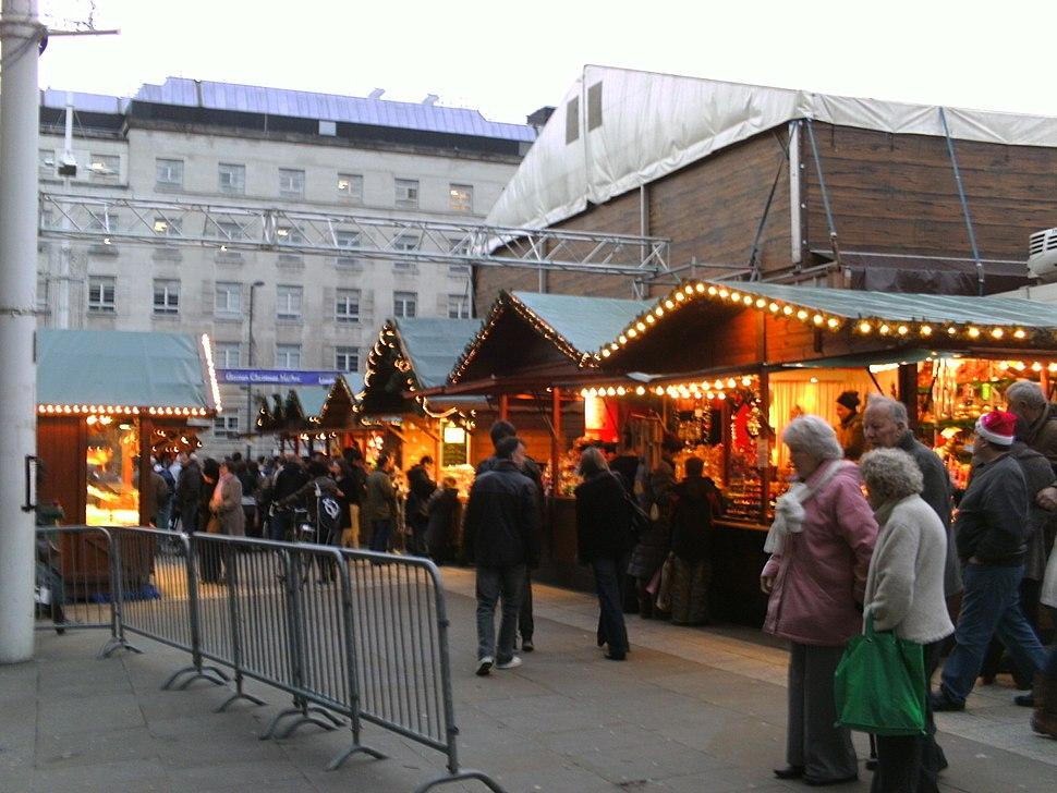 German Christmas Market in Leeds