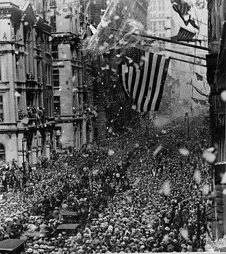 Gertrude Ederle - Image: Gertrude Ederle parade NYWTS