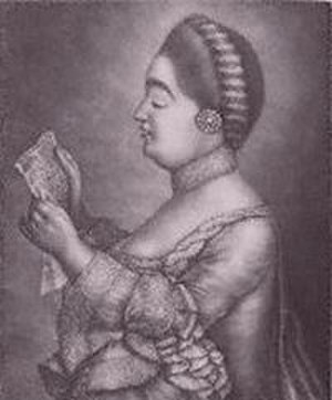 Solomon (Handel) - Giulia Frasi, soprano, creator of several roles in Solomon
