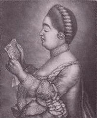 Solomon (Handel) - Giulia Frasi, soprano, creator of several roles in Solomon