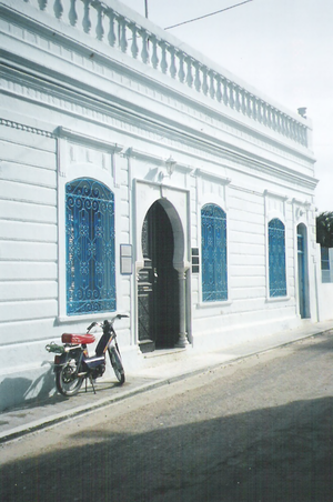 Religion in Tunisia - El Ghriba synagogue in Djerba is an important site for Jewish pilgrimage.
