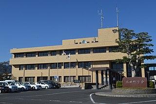 Ikeda, Gifu Town in Chūbu, Japan