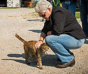 Gina McCarthy - Visiting a Missouri farm in 2014