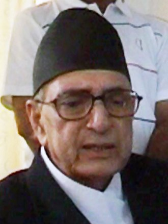 2008 Nepalese Constituent Assembly election - Image: Girija Prasad Koirala (cropped)