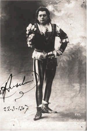 Giuseppe Anselmi - Giuseppe Anselmi as Charles Gounod's Roméo.