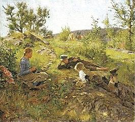 Shepherds at Tåtøy